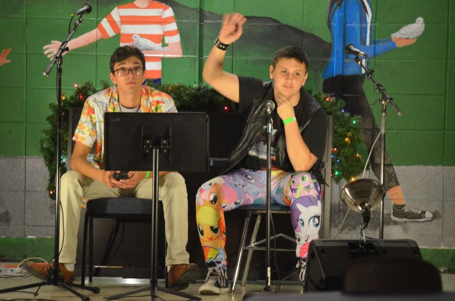 Mortal Godz preformed towards the end of the night. Coffeehouse took place on December 9th.