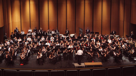 The concert took place for students and families all over Washington Township. The concert commenced at 7:30pm