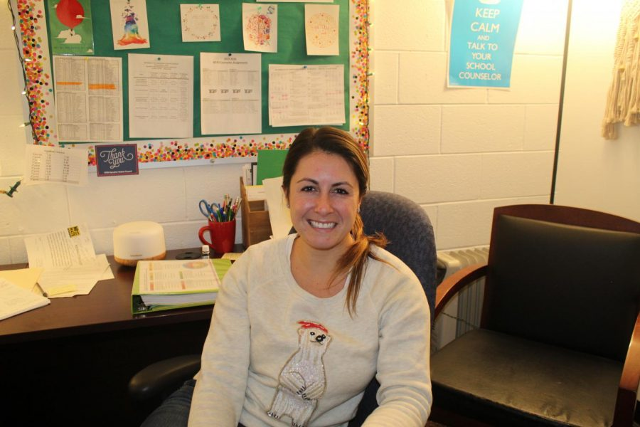 Mrs. Baud, a new and welcome addition to the counseling department, works hard to make sure all of her students feel supported.