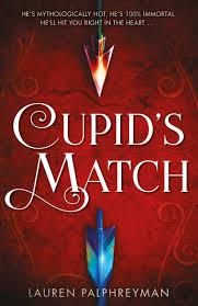 Cover art for the book Cupids Match by Lauren Palphreyman.