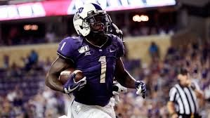 The Eagles first round pick was Jalen Reagor, the WR out of TCU, pictured here.