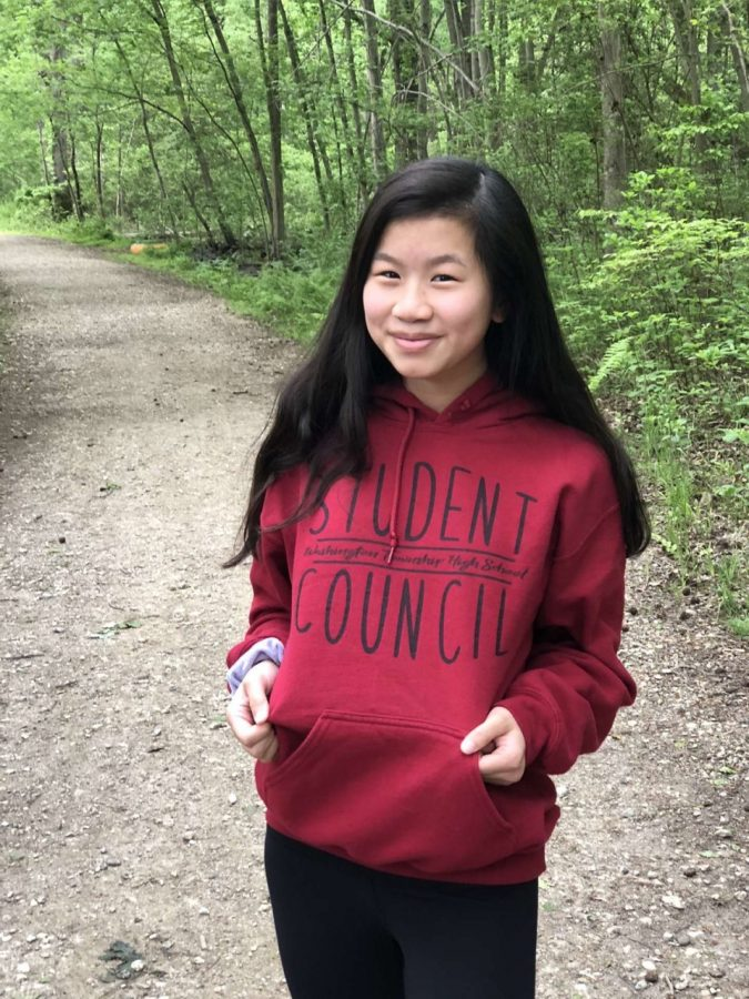 Emma Chu - Treasurer