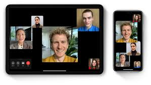 An example screenshot of a group Facetime call, a great way to stay connected at a distance.