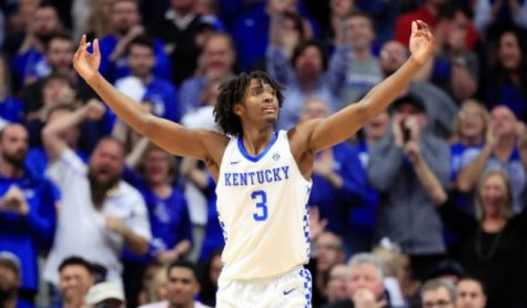 Tyrese Maxey while at Kentucky.