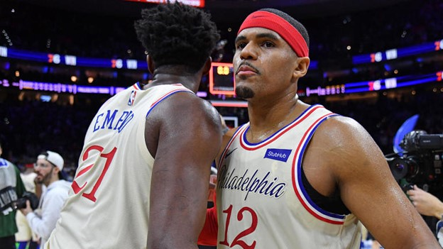 Two of the biggest reasons the Sixers are atop the East; Joel Embiid and Tobias Harris.