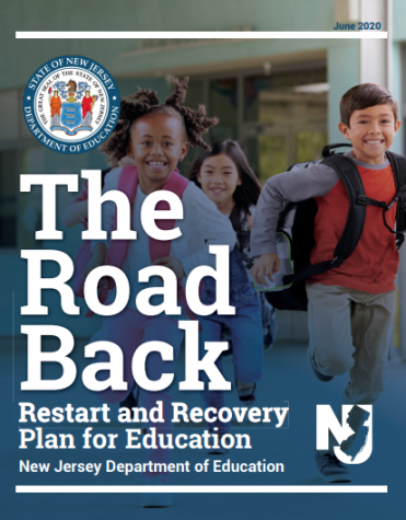 The cover of the New Jersey Deparment of Education
