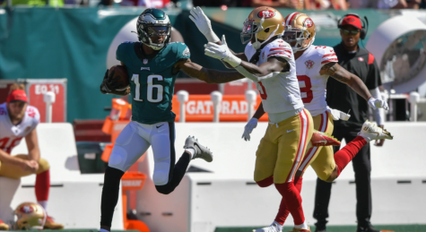 Eagles can't complete comeback in week two loss